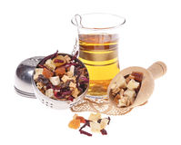 Dried fruit tea Stock Images
