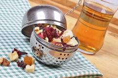 Dried fruit tea Stock Photography