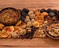 Free Dried Fruits Royalty Free Stock Photo - 1517475