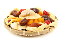 Dried fruits Royalty Free Stock Photos