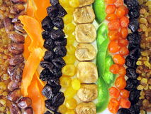 Dried fruits. Various dried fruits , can use as background Stock Photography