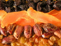 Dried fruits Stock Photography