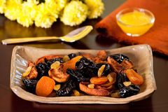 Dried fruits Stock Image