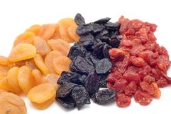 Dried fruits royalty free stock image