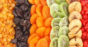 Dried fruits assortment Stock Photography