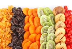Dried fruits assortment Stock Images