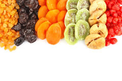 Dried fruits assortment Stock Photos
