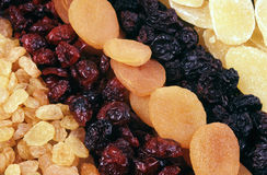 Dried fruits - background Royalty Free Stock Images