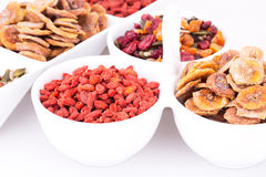 Dried fruits and berries Royalty Free Stock Photography