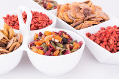 Dried fruits and berries Stock Image