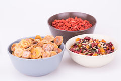 Dried fruits and berries Royalty Free Stock Images