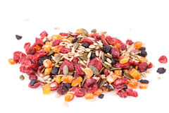 Dried fruits and berries Stock Images