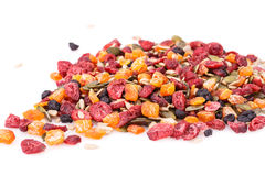 Dried fruits and berries Stock Photography