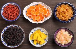 Dried fruits. Stock Photography