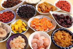 Dried fruits. Stock Photos