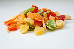 Dried fruits candies Stock Photography