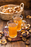 Dried fruits compote Stock Photos