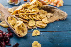 Dried fruits, healthy and delicious Stock Photography