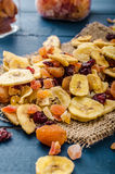 Dried fruits, healthy and delicious Royalty Free Stock Photos
