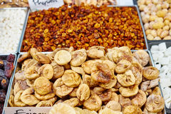 Dried fruits for healthy snack Stock Photo