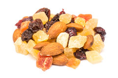 Dried Fruits Isolated Royalty Free Stock Image