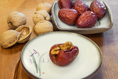 Dried fruits. Royalty Free Stock Photography