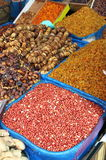 Dried fruits and legumes Royalty Free Stock Photos