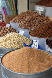Dried fruits and legumes Royalty Free Stock Image