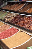 Dried fruits and legumes Royalty Free Stock Photography