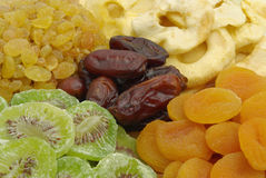 Dried fruits mix - detail Stock Photos
