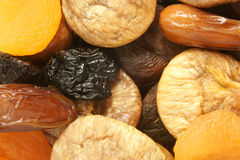 Dried fruits mixed Royalty Free Stock Images