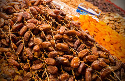 Dried fruits in Morocco Stock Photos
