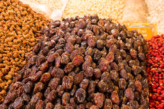 Dried fruits in Morocco Stock Image