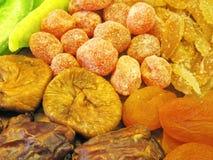 Dried fruits pattern Stock Photo