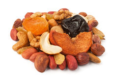 Dried fruits pile Royalty Free Stock Photography