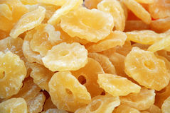 Dried fruits - Pineapple Royalty Free Stock Photos