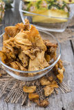 Dried Fruits (Pineapple) Stock Photos