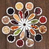 Dried Fruits Sampler Stock Photos