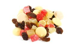 Dried Fruits Snack stock photos