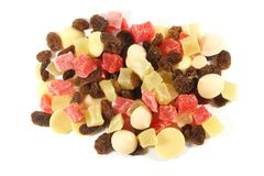 Dried Fruits Snack Royalty Free Stock Photo