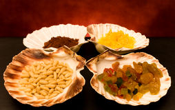 Dried Fruits And Spices Stock Photography