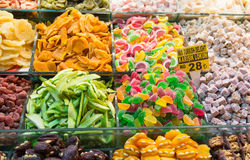 Dried Fruits and Sweets Royalty Free Stock Photo