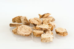 Dried Galangal Slices Royalty Free Stock Photos
