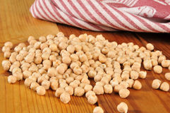 Dried garbanzo beans Royalty Free Stock Photo