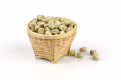 Dried Garden pea (Pisum sativum) Royalty Free Stock Photography