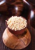 Dried garlic granules Stock Photography