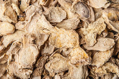 Dried ginger for mulled wine and hot tea Royalty Free Stock Photo