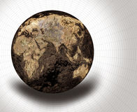 Dried Globe Royalty Free Stock Photo