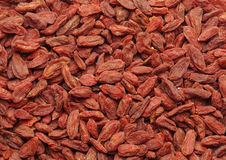 Dried goji Stock Photo