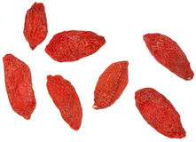 Dried Goji berries Stock Photos